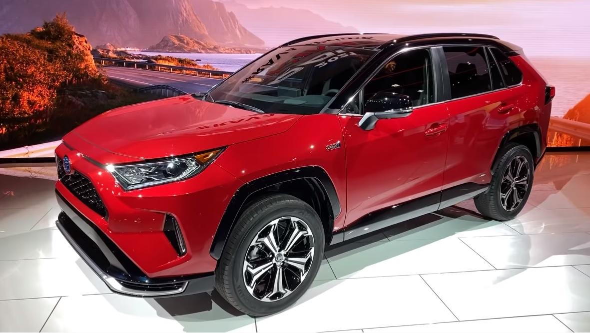 2021 toyota rav4 prime debuted at la auto show