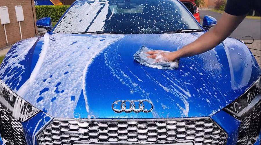 How to properly wash your car and prevent micro-scratches, swirl marks on paint