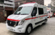 Nissan NV400: the first electric ambulance for the city