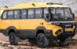 Torsus Praetorian: world's first 4x4 off-road bus