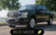 How to turn on / off Eco driving mode on Ford F-150