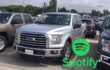How to play Spotify on Ford F-150 pickup truck