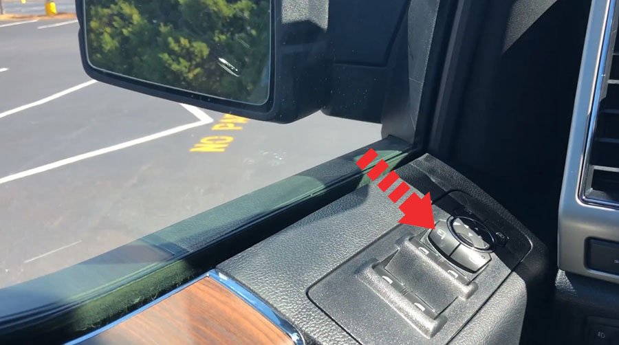 How To Reset Power Folding Mirrors On Ford F 150