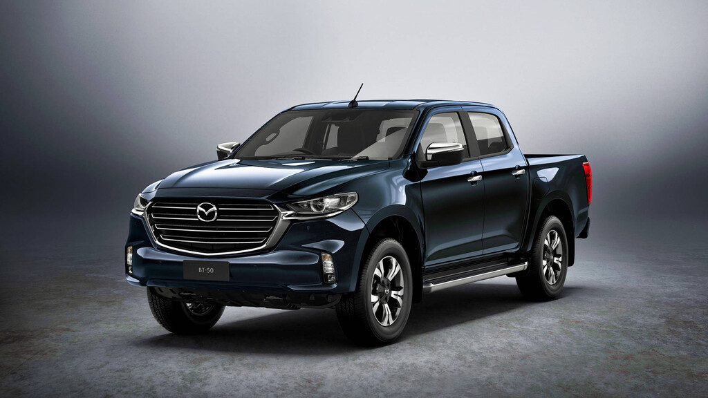 this is the new mazda bt50 2021