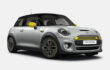 The Mini Cooper now also runs on electricity and a mini battery