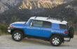 How to recalibrate compass on Toyota FJ Cruiser