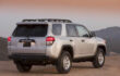 How to open rear window using smart key on Toyota 4Runner