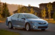 How to engage parking brake on Toyota Camry