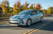 How to select Power or Eco mode on Toyota Prius